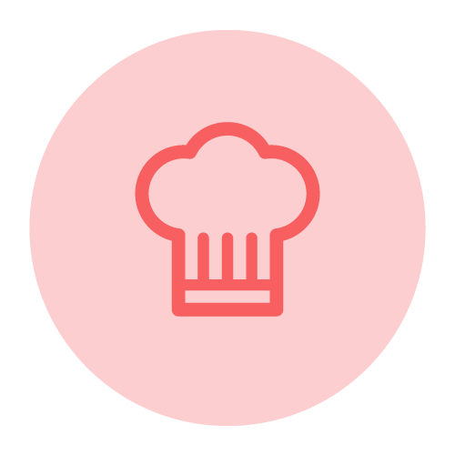 pictogramme toque de cuisine