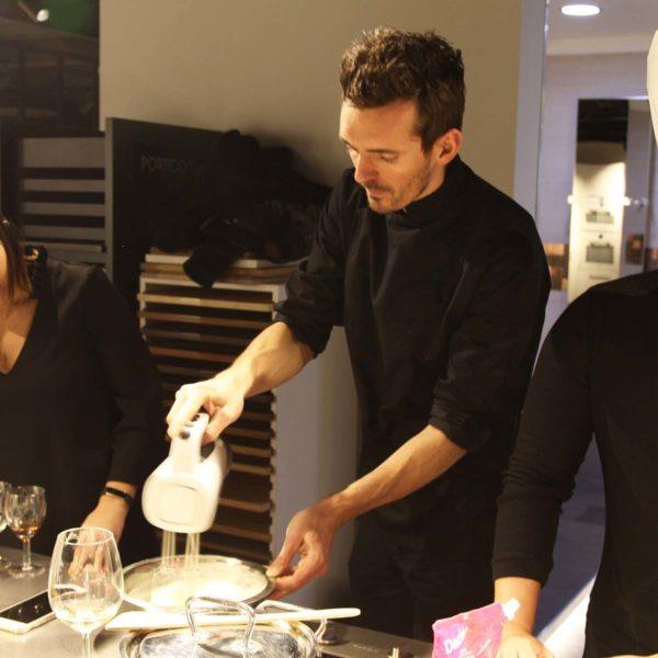 Chef Maxime en cuisine